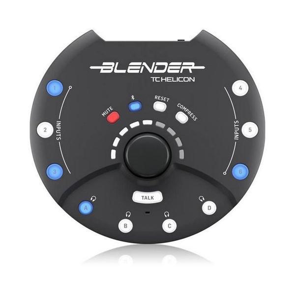 Imagem de Mixer Portátil TC Helicon Blender 6 In/8 Out com Interface USB Integrada