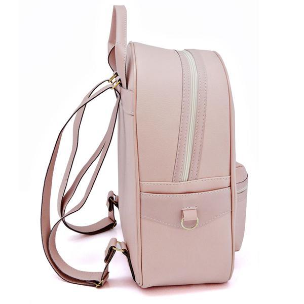 Imagem de mochila feminina escolar a pronta entrega produto original com nota fiscal