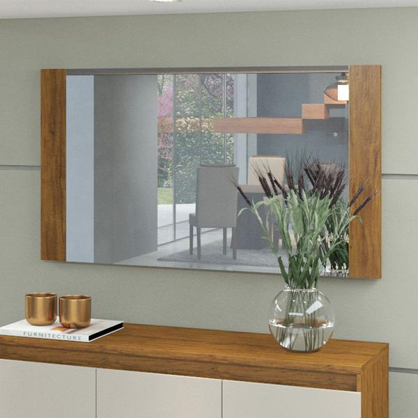 Imagem de Moldura com Espelho Star Viero Imbuia - Viero Móveis