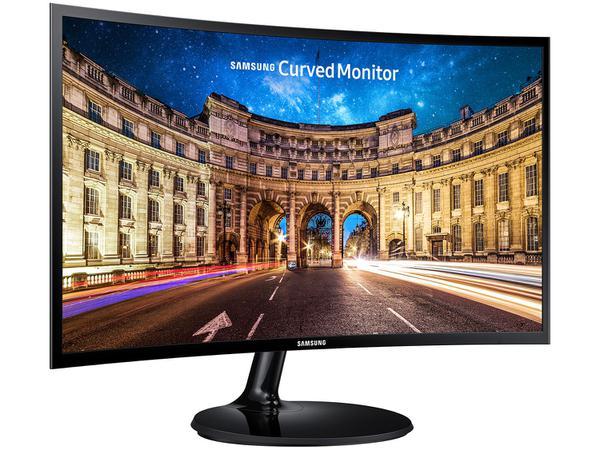 "Imagem de Monitor para PC Full HD Samsung LED Curvo 24"""