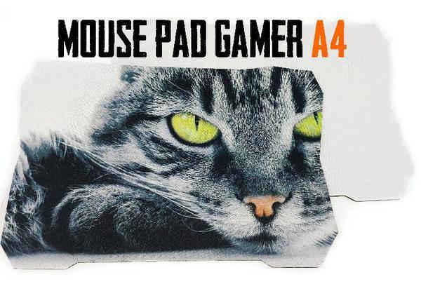 Imagem de Mouse Pad Gamer A4 Sublimação 20 x 29 cm