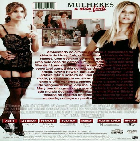 Imagem de Mulheres o Sexo Forte - DVD - Califórnia Filmes