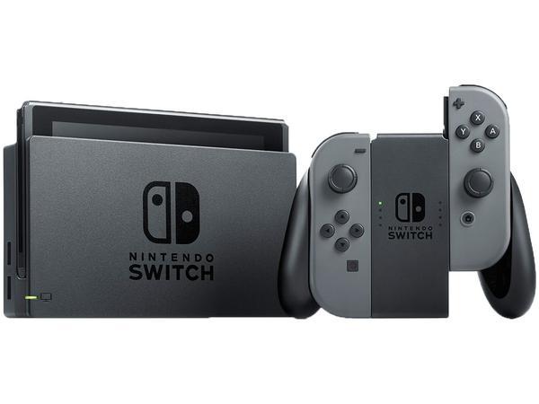 Imagem de Nintendo Switch 32GB 1 Controle Joy-Con - Cinza