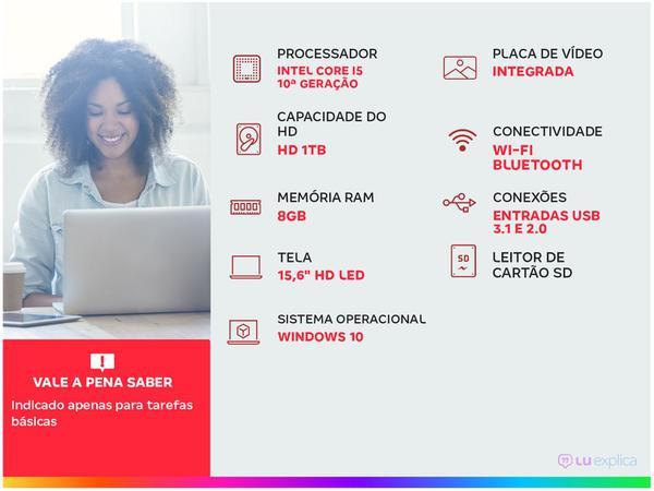 Imagem de Notebook Lenovo Ideapad S145 82DJ0001BR