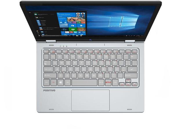 "Imagem de Notebook Positivo Duo C464C Intel Celeron Dual - Core 4GB 64GB Touch Screen 11,6""Full HD Windows 10"