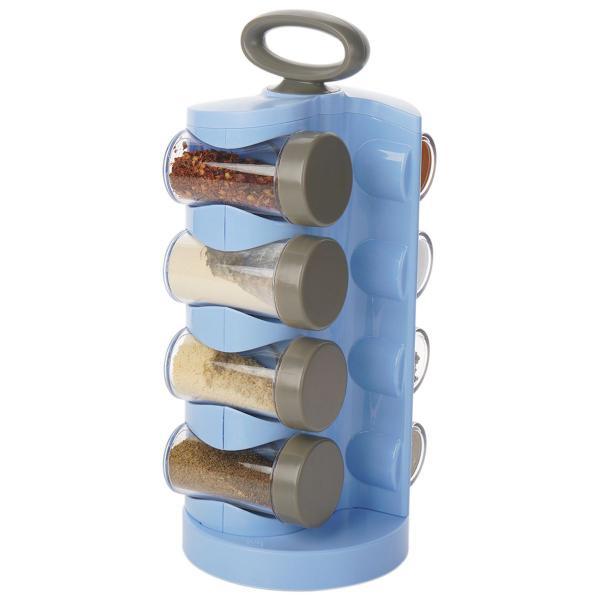 Imagem de Organizador de Temperos Porta Condimentos 8 Peças Giratório