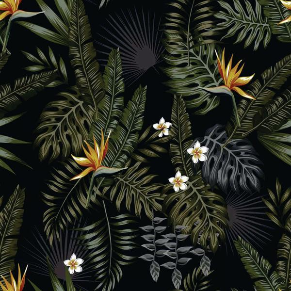 Imagem de PAPEL DE PAREDE DECORATIVO 3D FLORAL  (folha de 300x90 cm)
