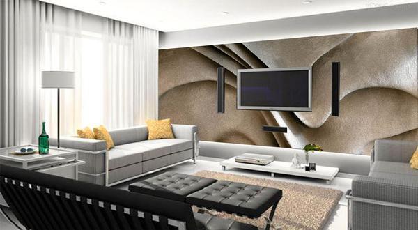 Imagem de Papel de parede decorativo 3d force