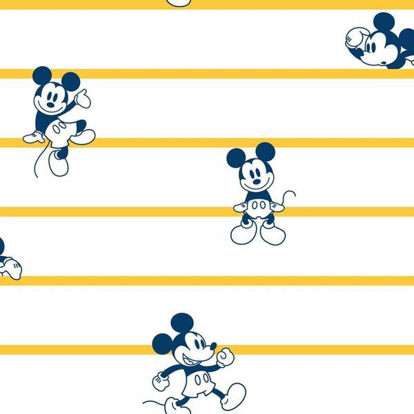 Imagem de Papel de Parede  Disney Mickey  Listrado DI0931 A
