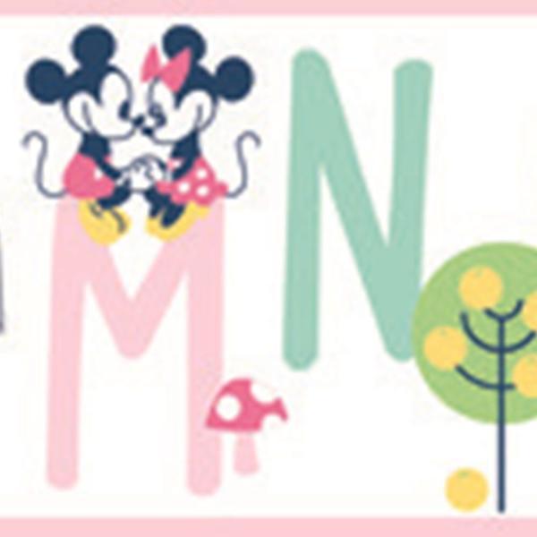 Imagem de Papel de Parede Disney Minnie e Mickey DI0971BD E