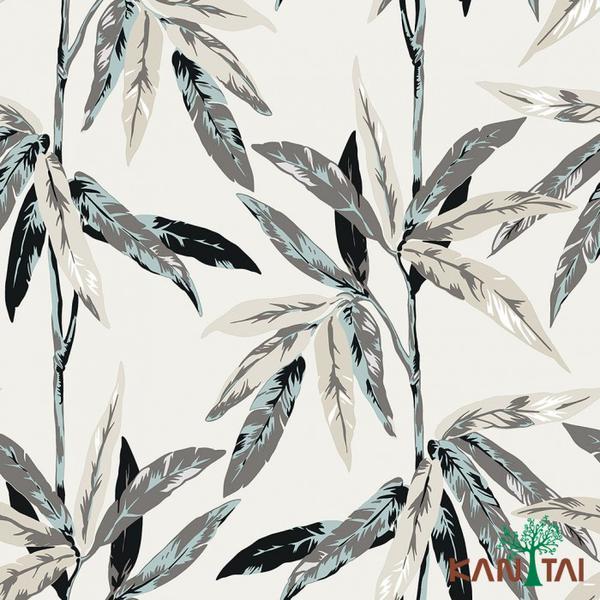Imagem de Papel de parede floral elegance 4 kantai - el203704r
