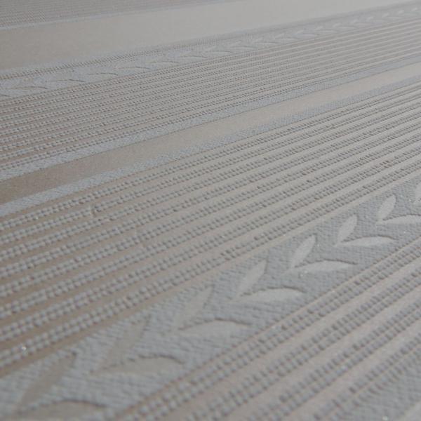 Imagem de Papel de Parede Importado Rose Gold C/ Listras Texturizado