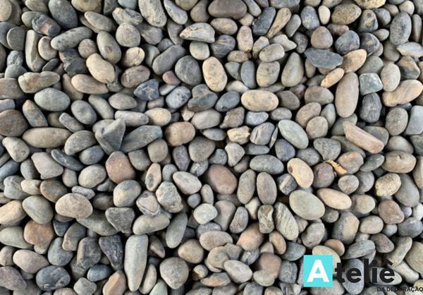 Imagem de Papel de Parede Madeira Pedras Efeito 3d
