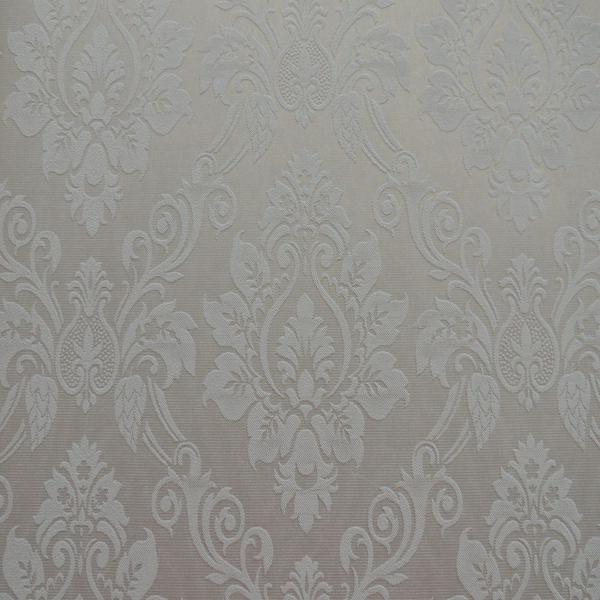 Imagem de Papel de Parede Texturizado Em Alta Arabesco Folhas Clean