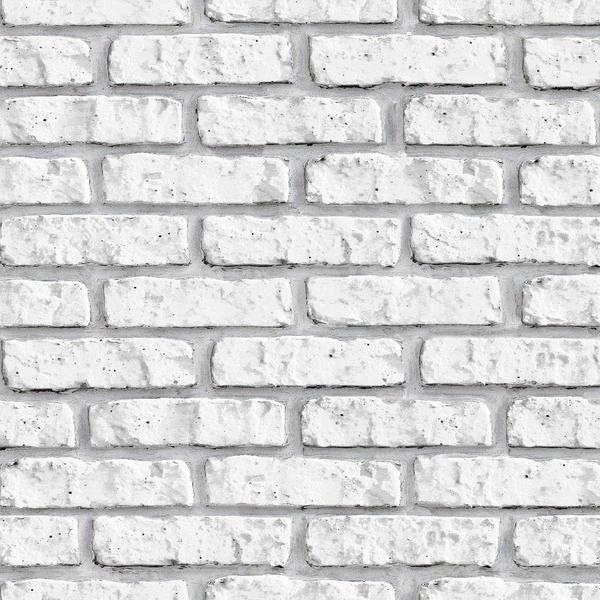 Imagem de Papel de Parede Tijolinho Branco 3D 2,70 x 0,57m