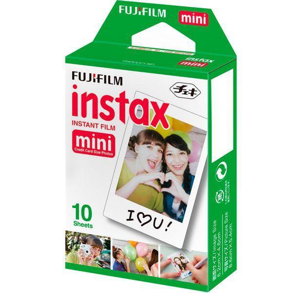 Imagem de Papel Fotográfico Instax Mini Pack 10 Fotos - Fujifilm