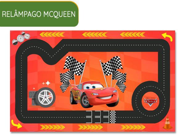 Imagem de Pista De Carros Heróis e tapete brincar 2,0 x 1,2 infantil