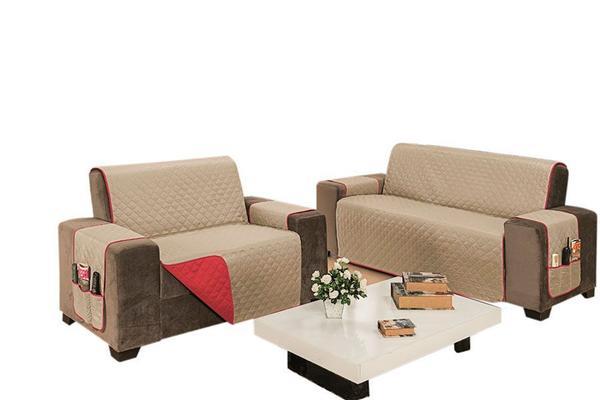 Imagem de Protetor Impermeável para Sofá de 4 Lugares