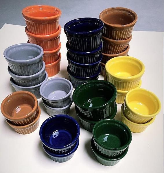 Imagem de Ramekim Porcelana 6 Unidades (kit)