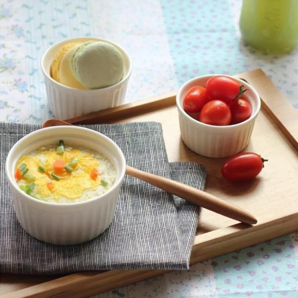 Imagem de Ramekin Ramequim Gourmet 100ml Cerâmica Canelado