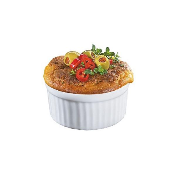 Imagem de Ramekin Ramequim Gourmet 190ml Cerâmica Canelado Restaurante