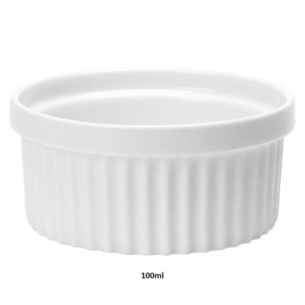 Imagem de Ramequim Ceramica 100ml Branco