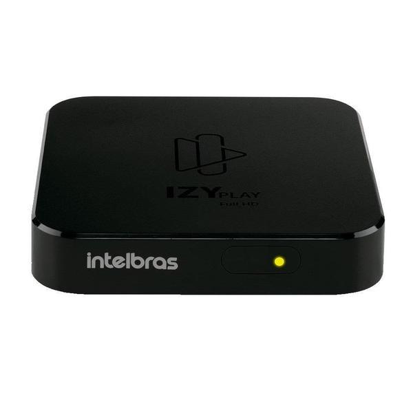 Imagem de Receptor Smart Box Intelbras Izy Play Android, HDMI, Bluetooth 4.2, Wi-Fi, Preto