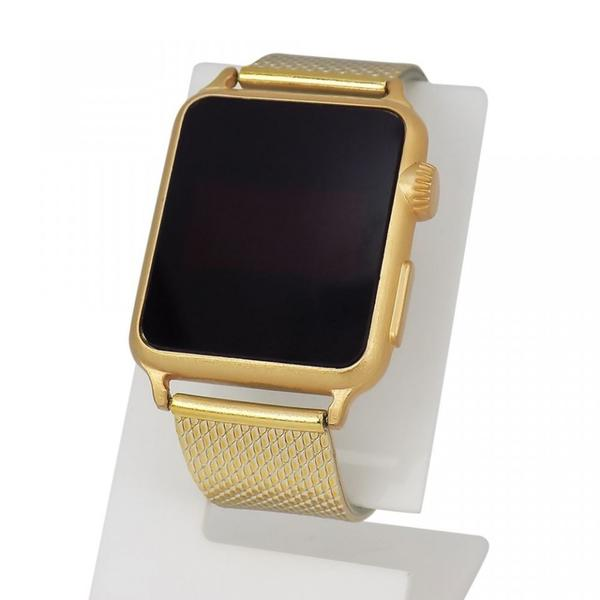Imagem de Relógio Feminino Dourado LED - Orizom