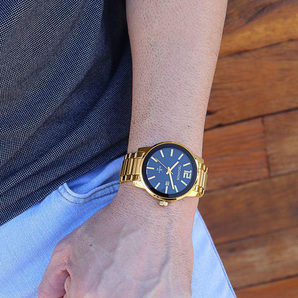 Imagem de Relógio Technos Masculino Golf Dourado Analógico 2115tt/4p