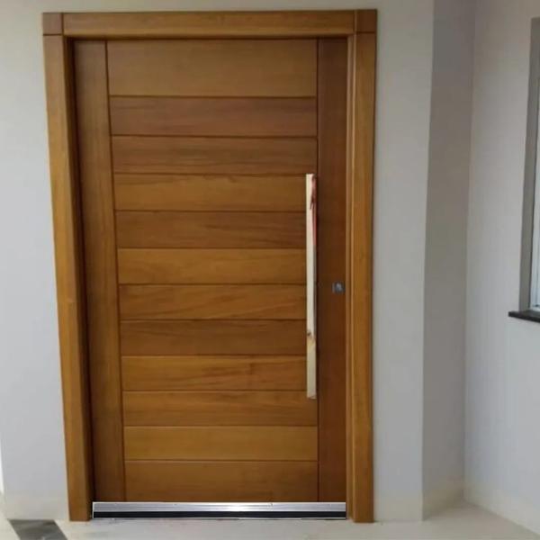 Imagem de Rodo Vedação De Porta Em Aluminio 80cm 90cm 100cm