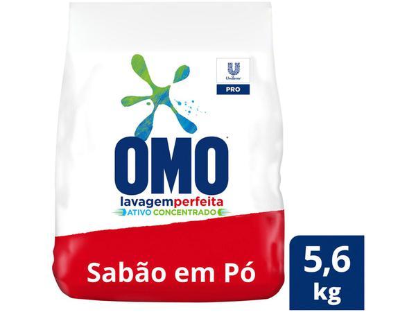 Imagem de Sabão em Pó Omo Lavagem Perfeita Concentrado - Profissional 5,6kg
