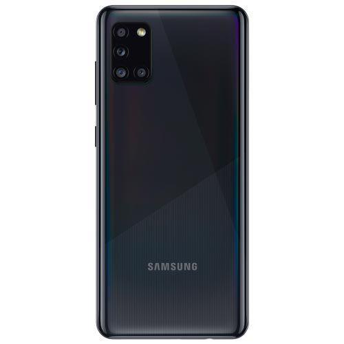 Imagem de Samsung Galaxy A31 Preto, Tela de 6,4  , 4G, 128GB e Câmera de 48MP + 8MP + 5MP + 5MP - SM-A315GZKKZTO