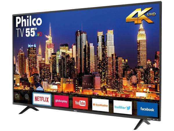 """Imagem de Smart TV 4K LED 55"""" Philco PTV55F62SN Wi-Fi HDR"""