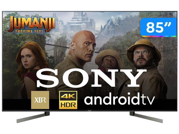 """Imagem de Smart TV 4K LED 85"""" Sony XBR-85X955G Android Wi-Fi"""