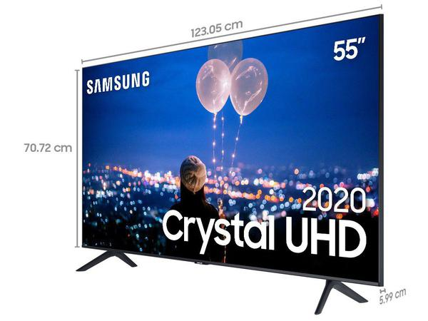 "Imagem de Smart TV Crystal UHD 4K LED 55"" Samsung - 55TU8000 Wi-Fi Bluetooth HDR 3 HDMI 2 USB"