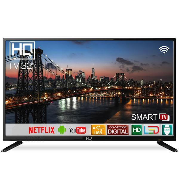 "Imagem de Smart TV LED 32"" HD HQ HQSTV32NP Netflix Youtube 2 HDMI 2 USB Wi-Fi"