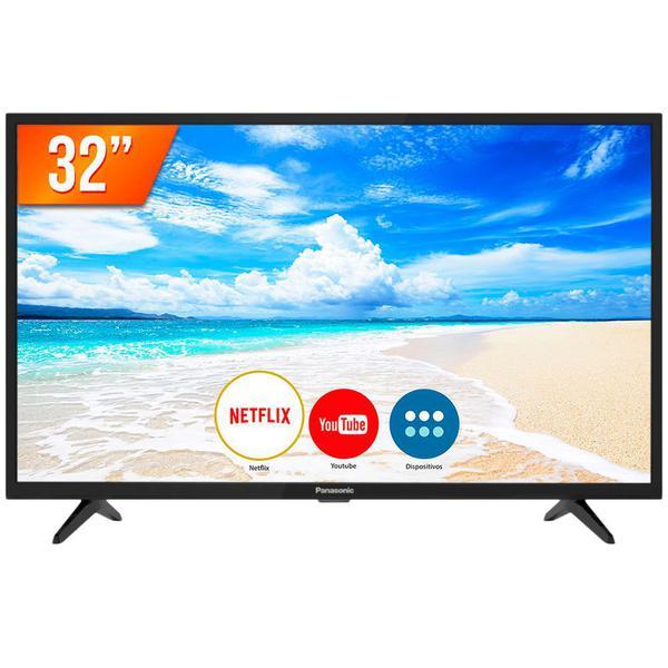 Imagem de Smart TV LED 32'' HD Panasonic 32FS500B 2 HDMI 2 USB Wi-Fi Conversor Digital