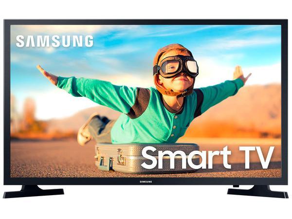 "Imagem de Smart TV LED 32"" Samsung 32T4300A - Wi-Fi HDR 2 HDMI 1 USB"