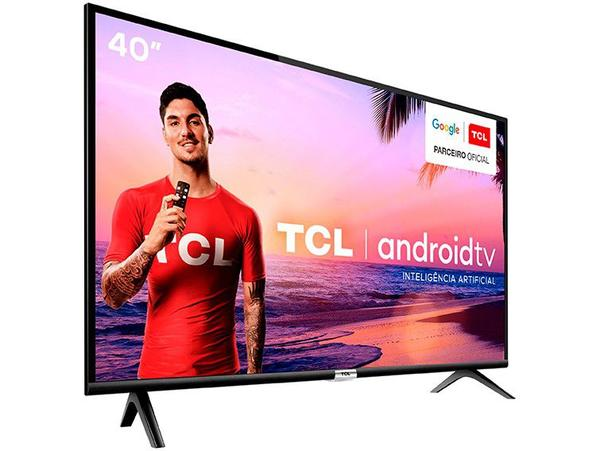 "Imagem de Smart TV LED 40"" TCL 40S6500 Full HD Android - Wi-Fi HDR Inteligência Artificial 2 HDMI USB"