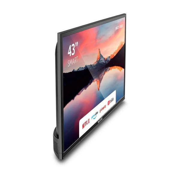"Imagem de Smart TV LED 43"" Full HD Multilaser TL012 3 HDMI 2 USB WiFi e Conversor Digital"