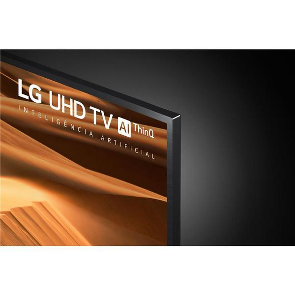 """Imagem de Smart TV LED 65"""" UHD 4K LG 65UM7470PSA ThinQ AI Inteligência Artificial"""