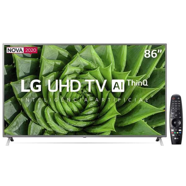 Imagem de Smart TV LG 86'' 4K UHD Bluetooth Inteligência Artificial Thinq Ai