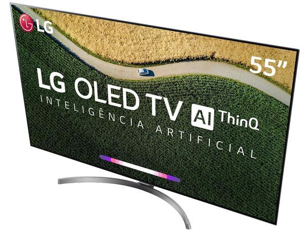 """Imagem de Smart TV OLED 55"""" 4K LG ThinQ AI HDR 4 HDMI 3 USB Wi-Fi"""