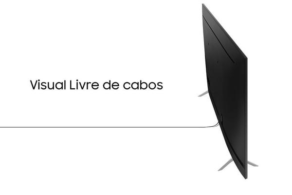 """Imagem de Smart TV QLED 85"""" 4K Q70T 2020 Samsung Pontos Quânticos, HDR, Borda Infinita, Alexa Built in, Modo Ambiente 3.0, Controle Único, Visual Livre de Cabos"""