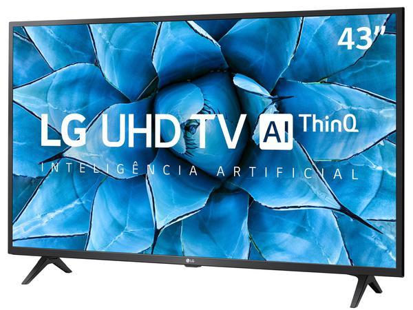 "Imagem de Smart TV UHD 4K LED IPS 43"" LG 43UN7300PSC Wi-Fi - Bluetooth Inteligência Artificial 3 HDMI 2 USB"