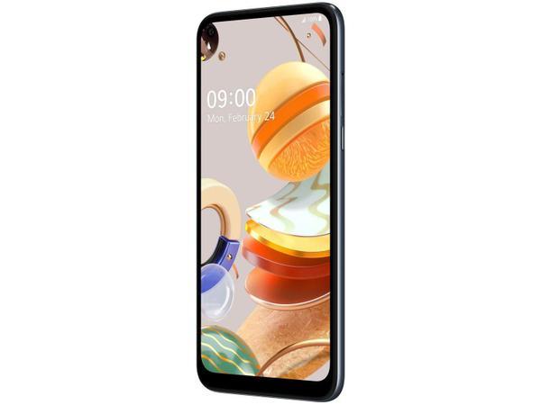 "Imagem de Smartphone LG K61 128GB Titânio 4G Octa-Core - 4GB RAM 6.53"" Câm. Quádrupla + Selfie 16MP"