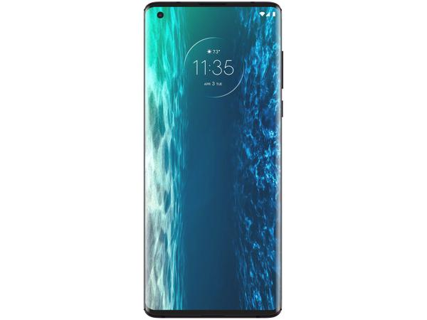 Imagem de Smartphone Motorola Edge 128GB Midnight Red 5G