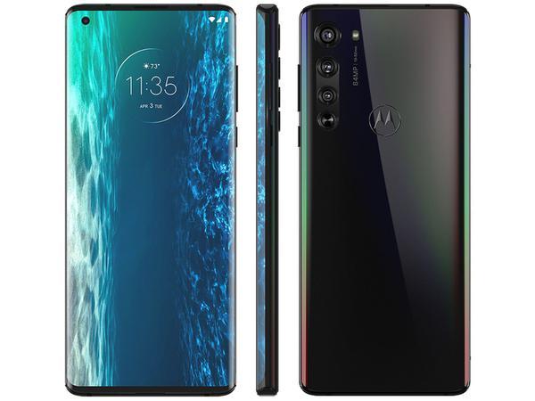 Imagem de Smartphone Motorola Edge 128GB Solar Black 6GB RAM