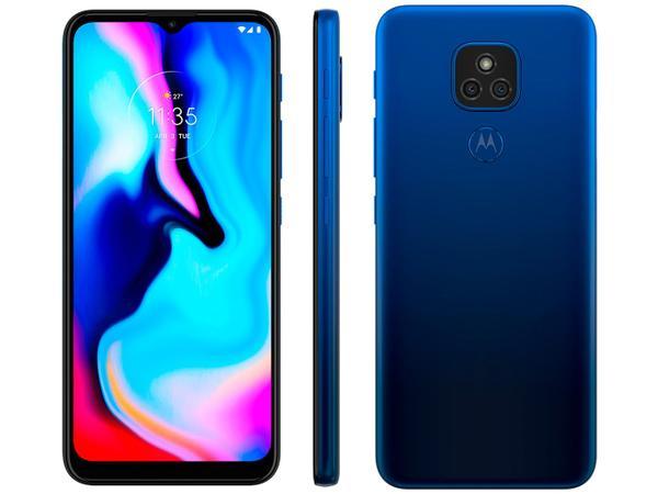 Imagem de Smartphone Motorola Moto E7 Plus 64GB Azul Navy
