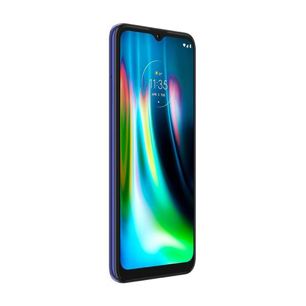 """Imagem de Smartphone Motorola Moto G9 Play 64GB 4GB RAM Câmera Tripla 48MP Tela 6.5"""" - Azul Safira"""